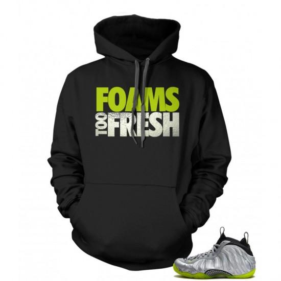 "Foams Too Fresh - Nike Air Foamposite One ""Premium"" Silver Foil Hoodie"