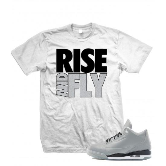 "Rise And Fly - Air Jordan ""5LAB3"" Elephant Print T Shirt"