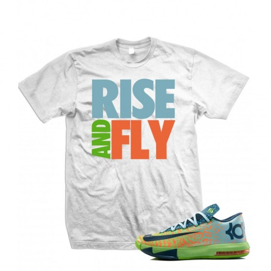 Rise And Fly - KD VI Liger T Shirt