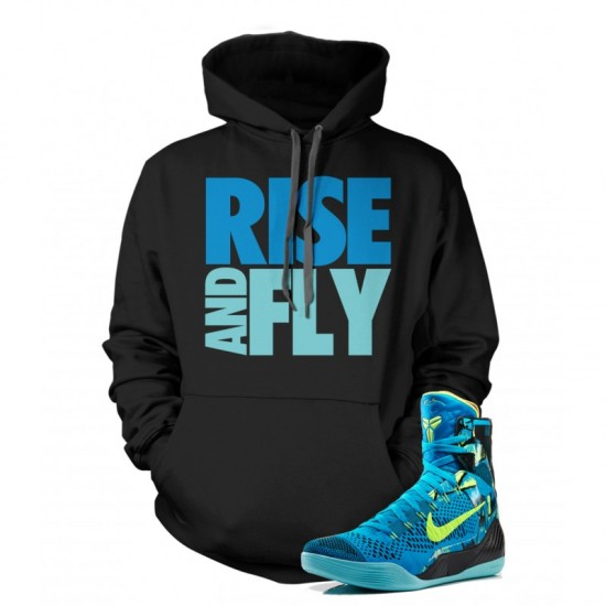"""Rise And Fly - Kobe 9 Elite """"Perspective"""" Hoodie"""