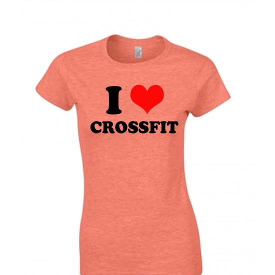 I Love Crossfit Juniors T Shirt
