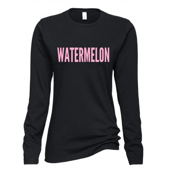 Beyonce Watermelon Juniors Long Sleeve T-Shirt
