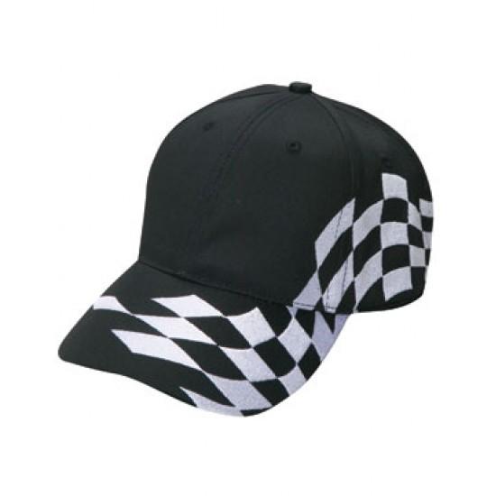 Checker Flag Racing Hat