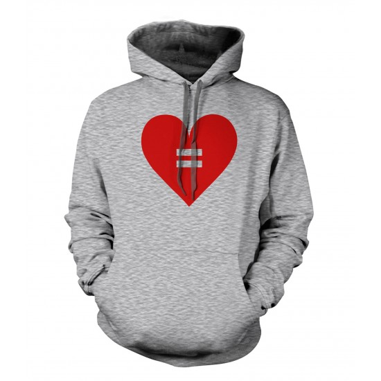 Equal Rights Heart Hoodie