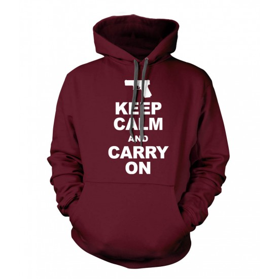 Keep Calm and Carry On Hoodie