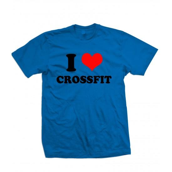 I Love Crossfit T Shirt