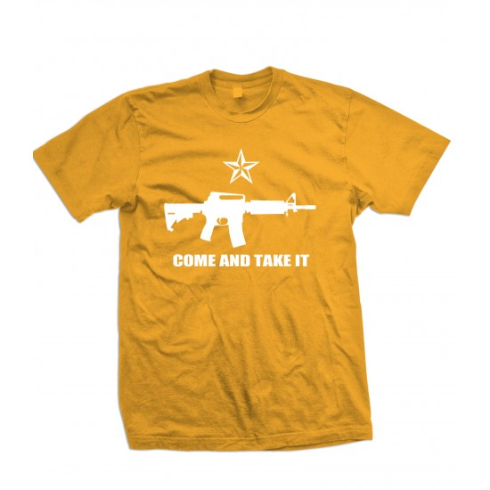 Come And Take It Pro Gun Rights T Shirt