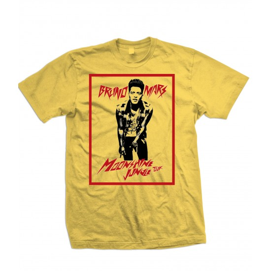 Bruno Mars Moonshine Jungle Tour Youth T Shirt