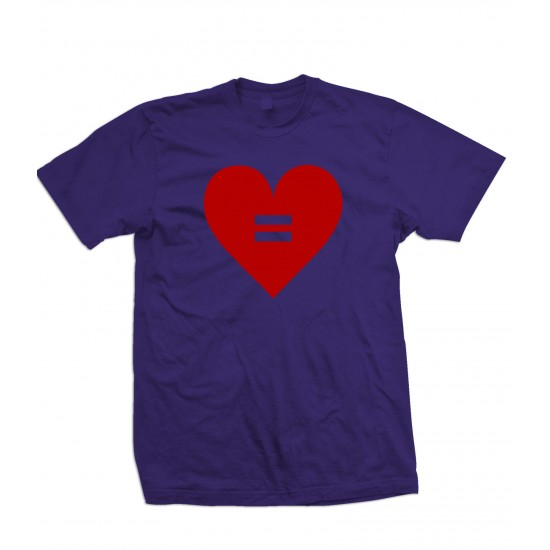 Equal Rights Heart T Shirt