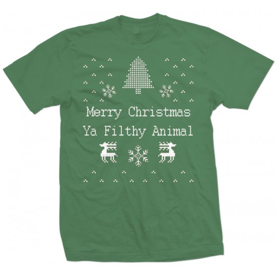 Merry Christmas, Ya Filthy Animal. T Shirt