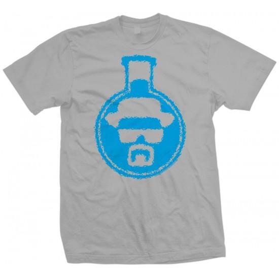 Breaking Bad Blue Crystal Beaker T Shirt