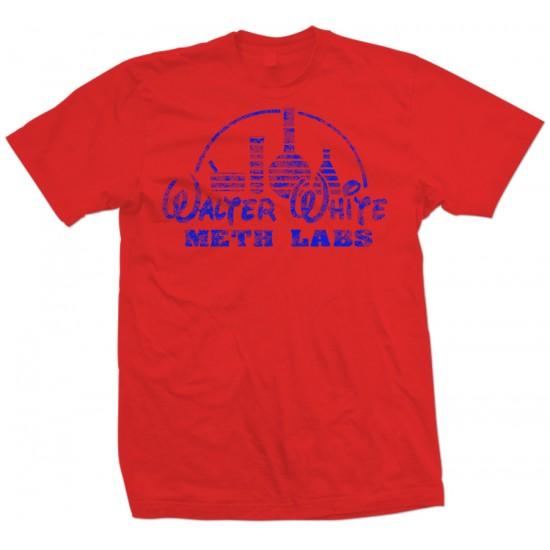 Walter White Meth Labs T Shirt Royal Print