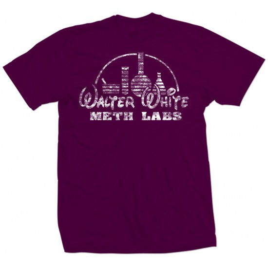 Walter White Meth Labs T Shirt White Print