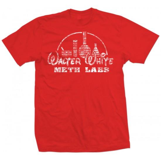 Walter White Meth Labs T Shirt White Print