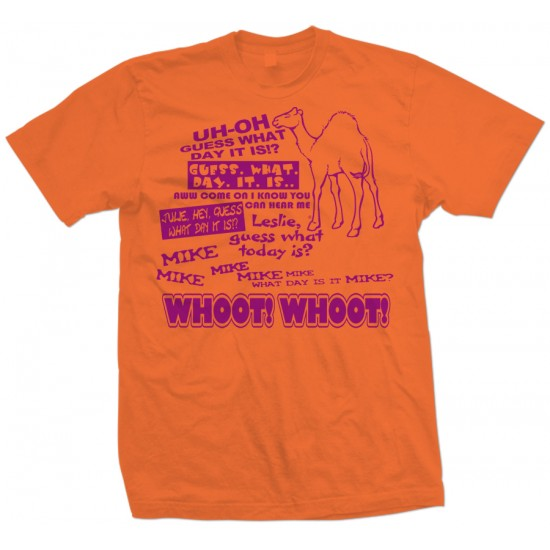 Geico Hump Day Camel T Shirt Purple Print