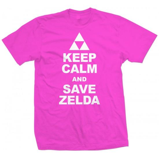 Keep Calm Save Zelda T Shirt