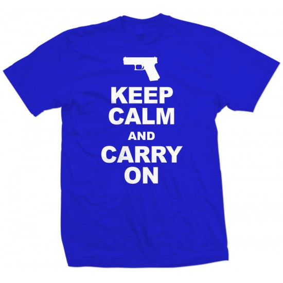 Keep Calm and Carry On T Shirt