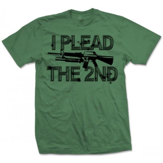 I Plead the 2nd AR15 T Shirt