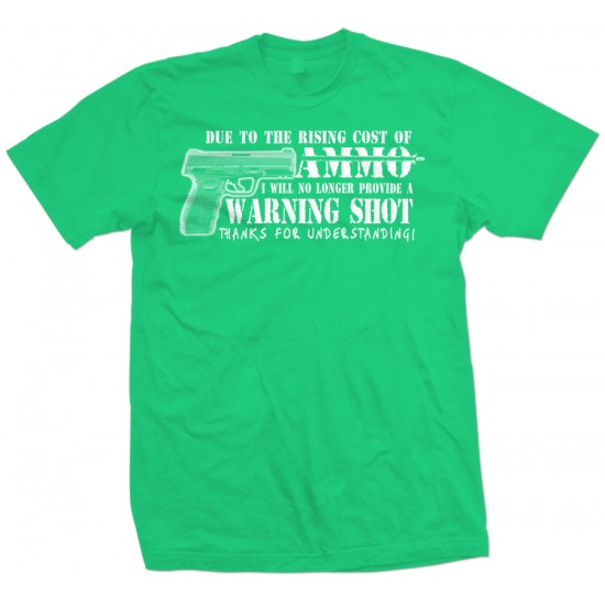 No Warning Shot T Shirt