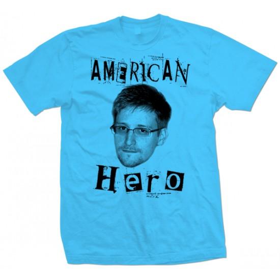 American Hero Edward Snowden T Shirt