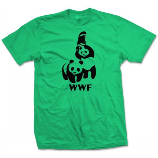 WWF Panda Fight T Shirt