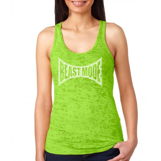 Beast Mode Tapped Out Burnout Tank Top