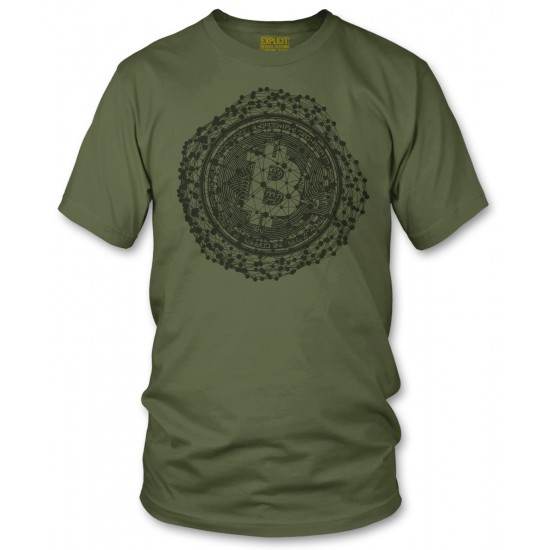 Bitcoin Connected Nodes T Shirt