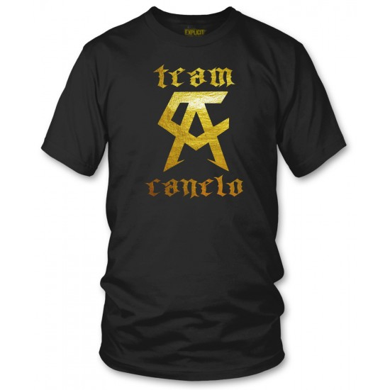 Team Canelo - Gold Foil T Shirt