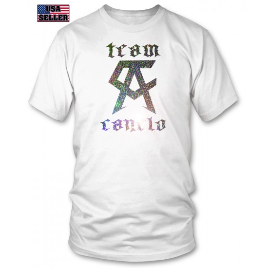 Team Canelo - Silver Shatter Foil T Shirt