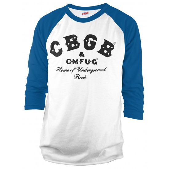 CBGB Raglan Shirt - Black Print