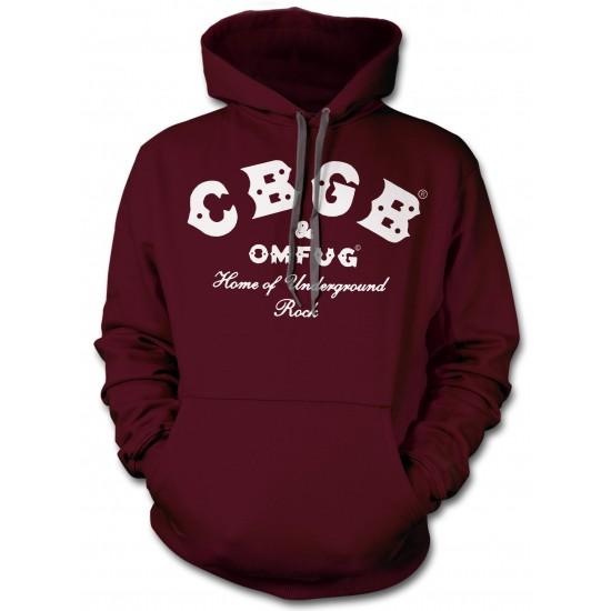 CBGB RingSpun Hoodie - White Print