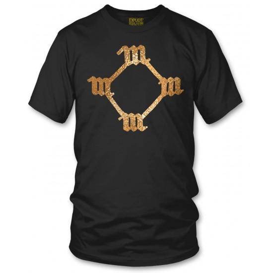 So Help Me God Gold Foil T Shirt