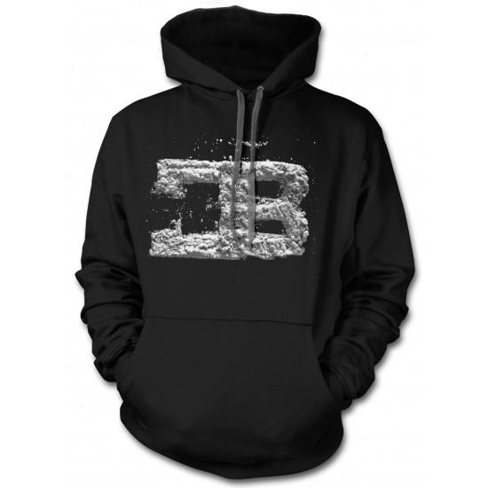 """CB """"Powder"""" Logo Ring Spun Hoodie"""