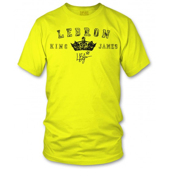 King Lebron James Signature Shirt