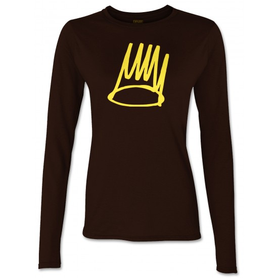 J Cole Born Sinner Juniors Long Sleeve T Shirt
