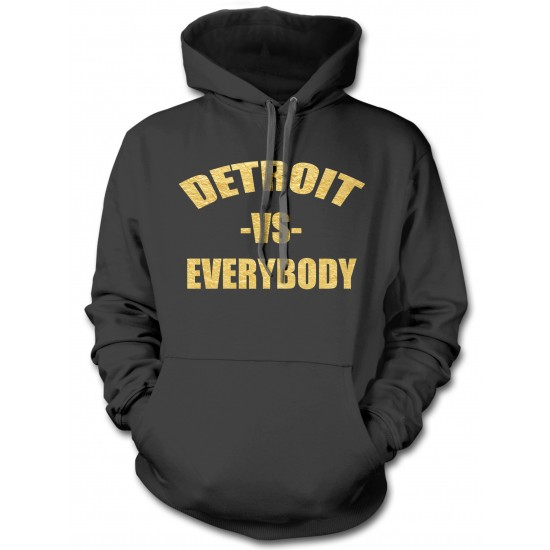Detroit vs. Everybody Special Edition Gold Foil Hoodie
