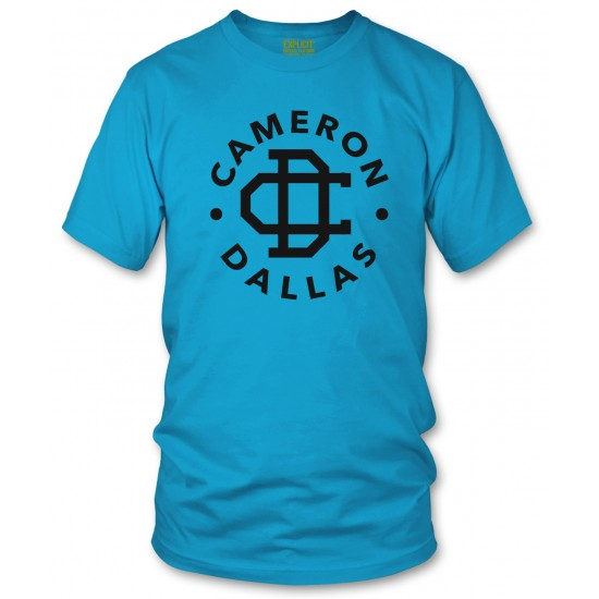 Camron Dallas T Shirt Black Print