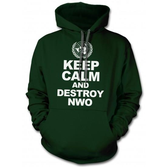 Keep Calm And Destroy NWO Hoodie