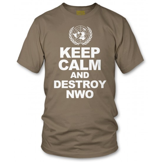 Keep Calm And Destroy NWO T Shirt