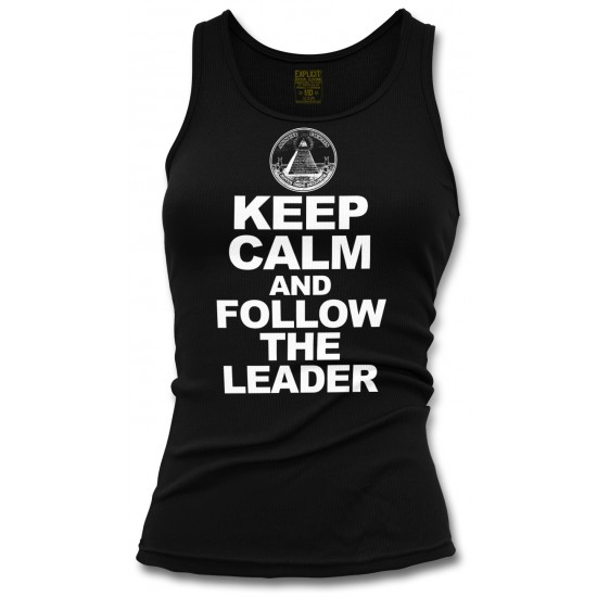 Keep Calm and Follow the Leader Women's Tank Top