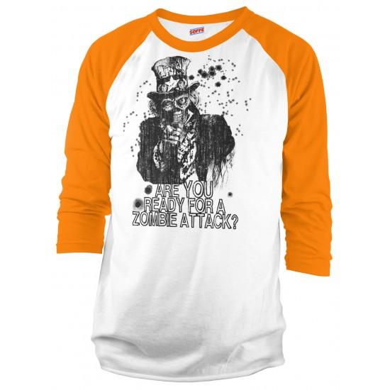 Zombie Uncle Sam Raglan Shirt
