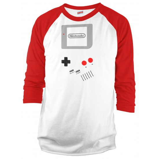 Nintendo Game Boy Halloween Costume Raglan Shirt