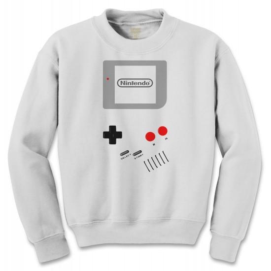 Nintendo Game Boy Halloween Costume Crewneck Sweatshirt