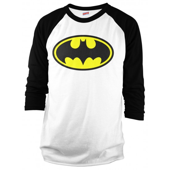 Batman Halloween Costume Raglan Shirt