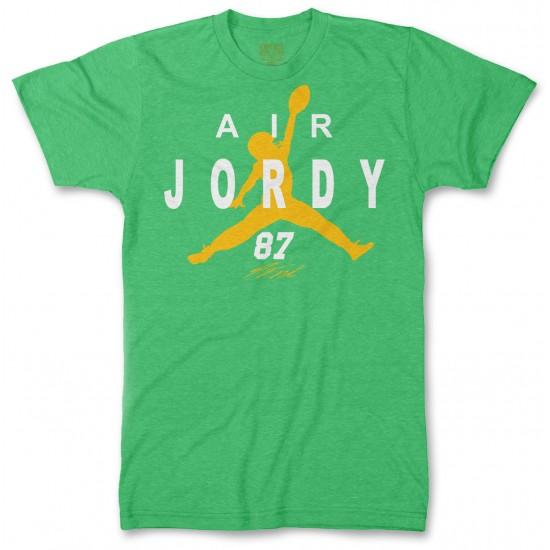 Air Jordy Nelson Green Bay Packers Men's Tri-Blend T Shirt