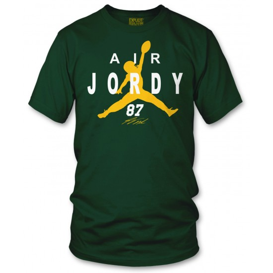 Air Jordy Nelson Green Bay Packers T Shirt