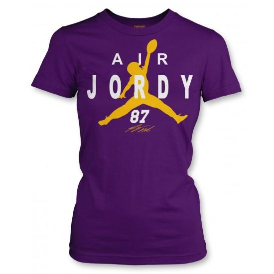 Air Jordy Nelson Green Bay Packers Juniors T Shirt