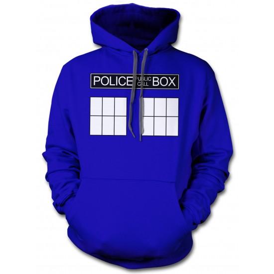 Doctor Who's Police Box Tardis Hoodie