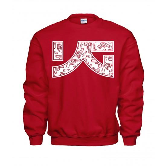 YG Drug Of Choice - Guns Crewneck Sweatshirt