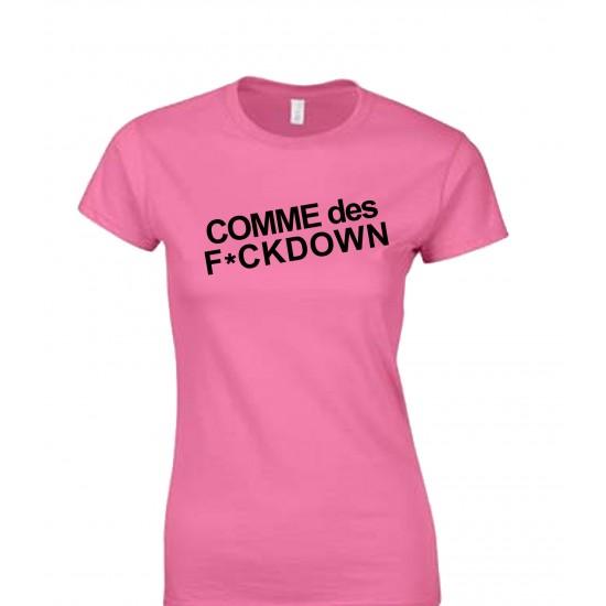 Comme Des F*CKDOWN Juniors T Shirt
